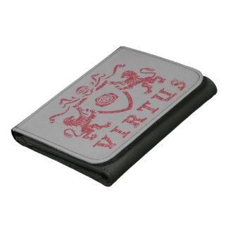 Heraldic Rose Virtus Wallet