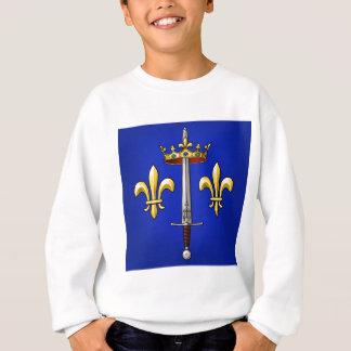 Heraldry of Joan of Arc Jeanne d'Arc Sweatshirt
