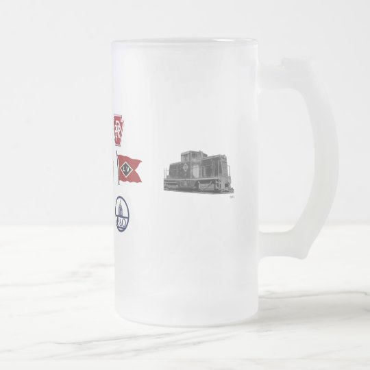 Heralds of the PoNY Frosted Glass Beer Mug