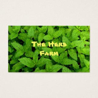 Herb Farm Business Card