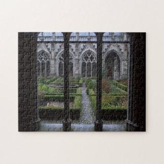 Herb garden, Dom church, Utrecht Jigsaw Puzzle