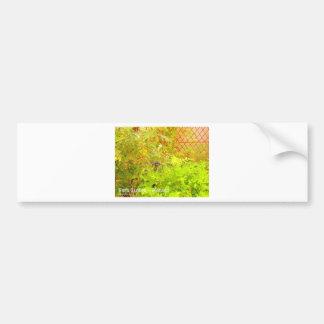 Herb Garden - Monaco Bumper Sticker