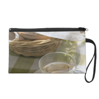 Herb Tea and Corn Wristlet Clutch