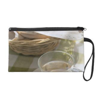 Herb Tea and Corn Wristlet Clutch