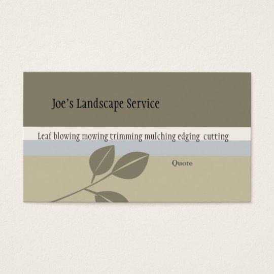 Herbal Medicine Classic Elegant Business Card