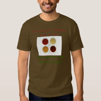 herbal tea mens shirt