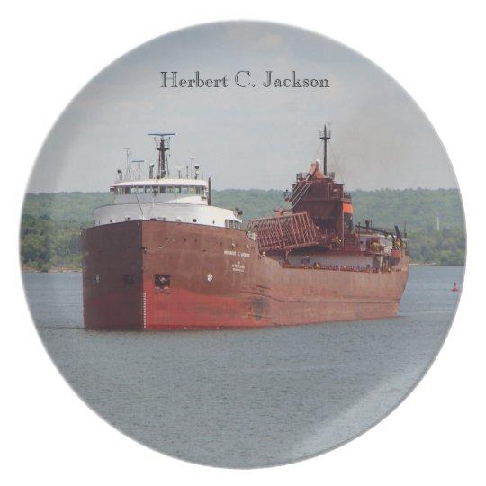 Herbert C. Jackson plate