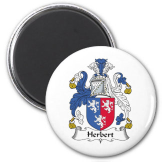 Herbert Family Crest Refrigerator Magnets
