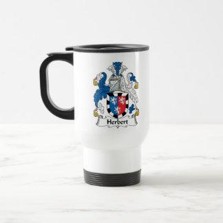 Herbert Family Crest Travel Mug