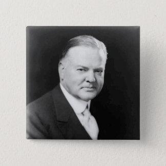 Herbert Hoover 15 Cm Square Badge