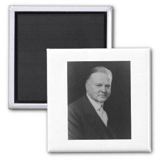 Herbert Hoover 31 Square Magnet