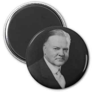 Herbert Hoover 6 Cm Round Magnet