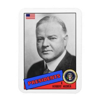 Herbert Hoover Baseball Card Magnet