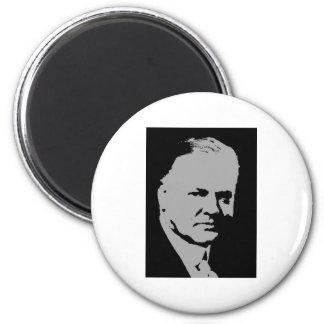 Herbert Hoover silhouette Magnets