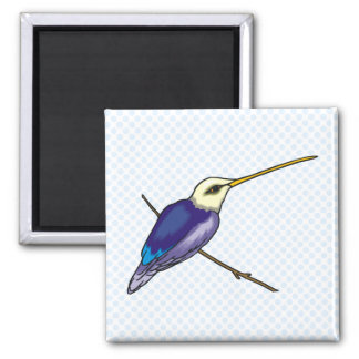 Herbert Hummingbird Square Magnet