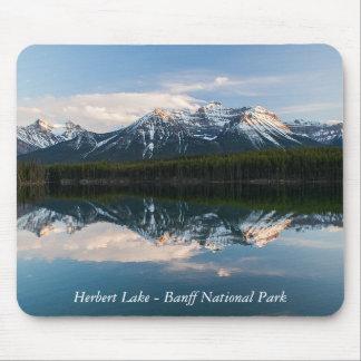 Herbert Lake, Alberta, Canada mousepad