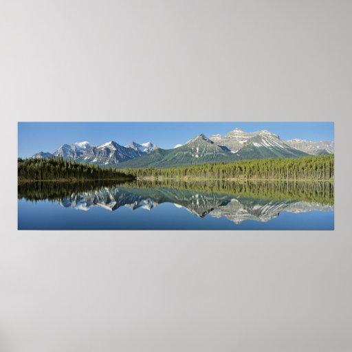 Herbert Lake, Banff National Park, Canada Poster