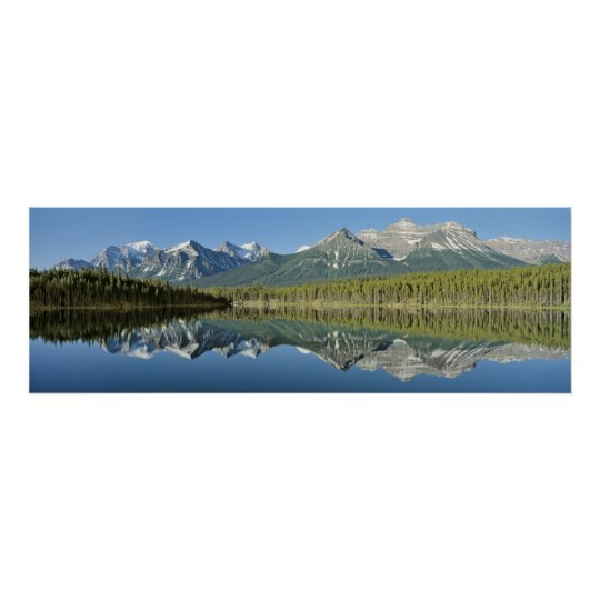 Herbert Lake, Banff National Park, Canada Poster