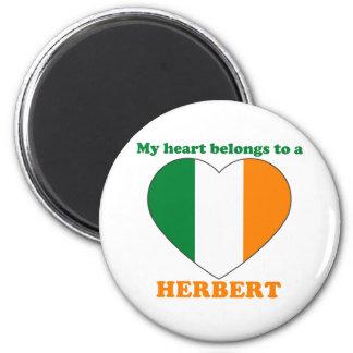 Herbert Refrigerator Magnets