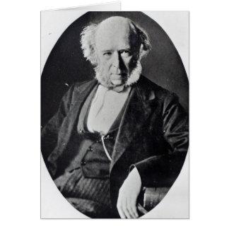 Herbert Spencer Greeting Card