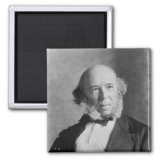 Herbert Spencer Refrigerator Magnet