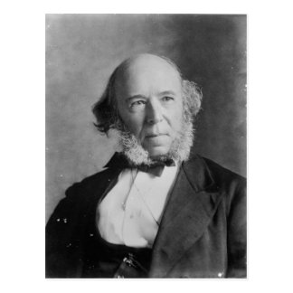 Herbert Spencer Postcard