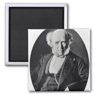 Herbert Spencer Square Magnet