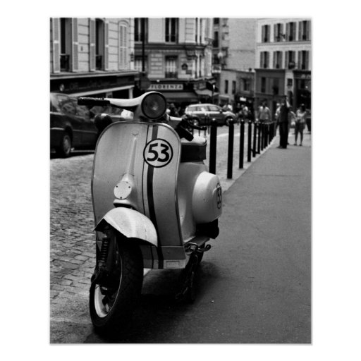 Herbie-Scooter Poster