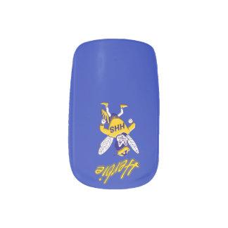 Herbie the Hornet Minx Nails Minx Nail Art