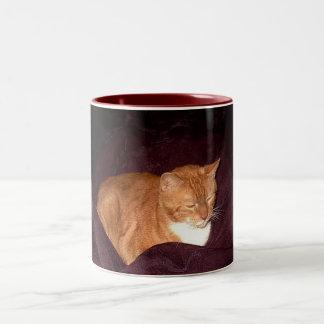 Herbie the Orange Marmalade Cat Mug