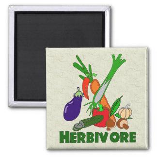 Herbivore Square Magnet