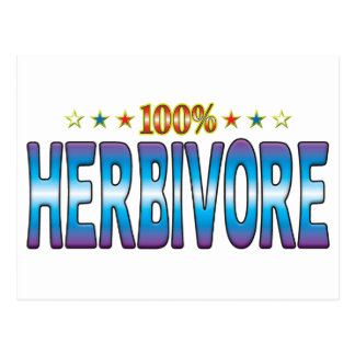 Herbivore Star Tag v2 Postcard