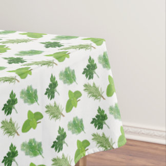 Herbs Emoji Tablecloth