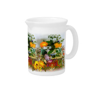 Herbs for Health Pitcher