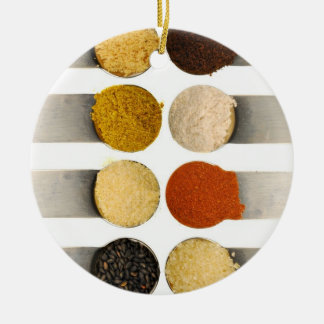Herbs Spices & Powdered Ingredients Christmas Ornament