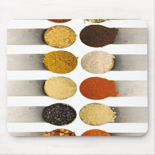 Herbs Spices & Powdered Ingredients Mousepad