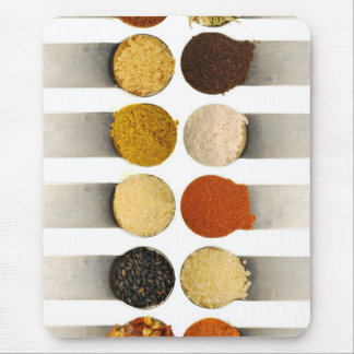 Herbs Spices Powdered Ingredients Mousepad