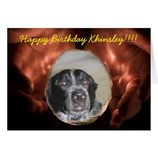 Herc Remembrance Greeting Birthday Card