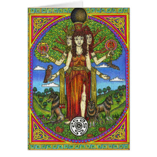 Hercate Goddess of the Cross Roads, Card
