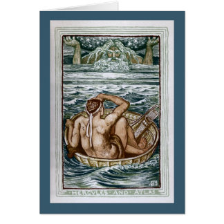 Hercules and Atlas Greeting Card
