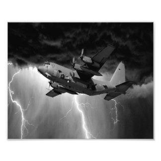 Hercules C-130 Art Photo