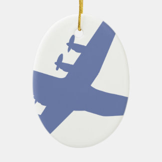 Hercules C-130 Ceramic Oval Decoration