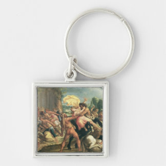 Hercules, Deianeira and the centaur Eurytion Key Ring
