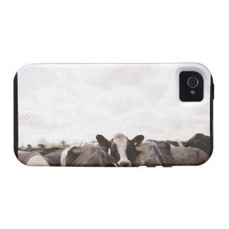 Herd of cattle and overcast sky 2 vibe iPhone 4 covers