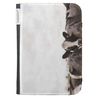 Herd of cattle and overcast sky 2 kindle keyboard covers
