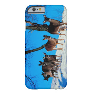 Herd of deer barely there iPhone 6 case