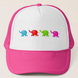 Herd of Elephants Trucker Hat