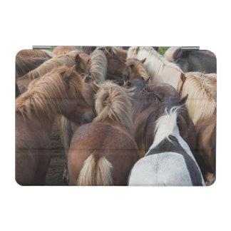 Herd of Icelandic horse iPad Mini Cover