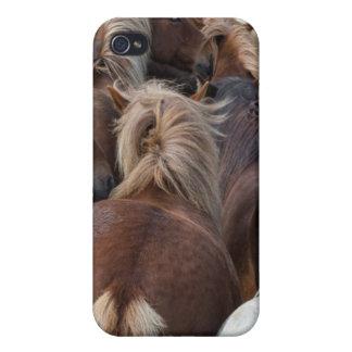 Herd of Icelandic horse iPhone 4/4S Cover