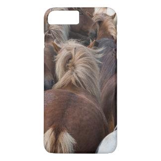 Herd of Icelandic horse iPhone 8 Plus/7 Plus Case